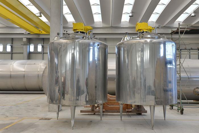 Usata Reattore / miscelatore MAGNABOSCO Italy da 5000 Litri