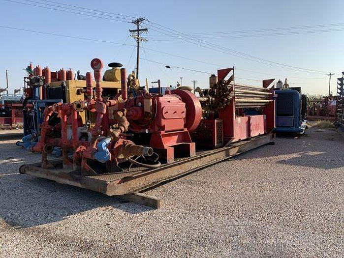 Used GARDNER DENVER TEE - TRIPLEX PUMP
