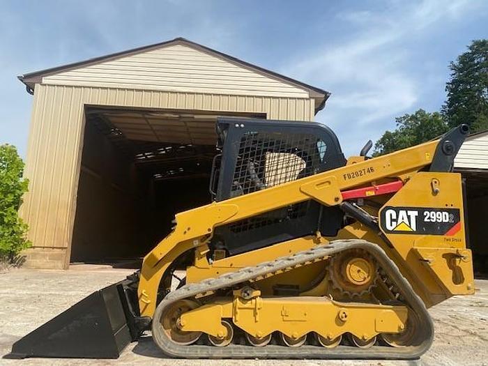 Used CAT 299D2 & 289D skid steer.