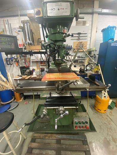 Used Microcut 837 Manual Turret Milling Machine