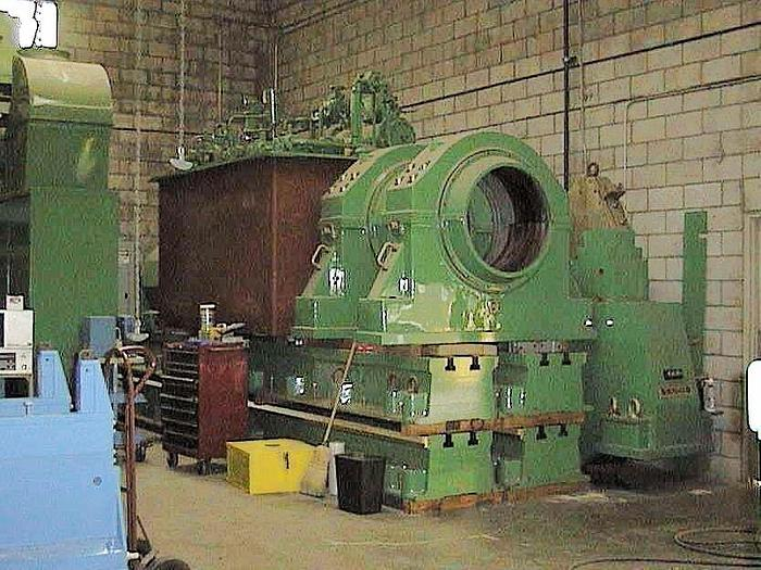 Used 190,000 POUND SCHENCK MDL. H9V ROLL BALANCING MACHINE