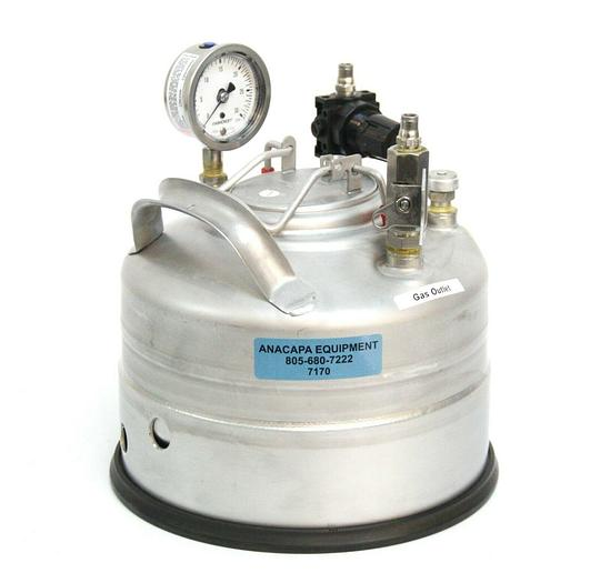 Used Alloy Products Corp. Stainless Steel Pressure Vessel Dewar 1 Gal USED (7170) R
