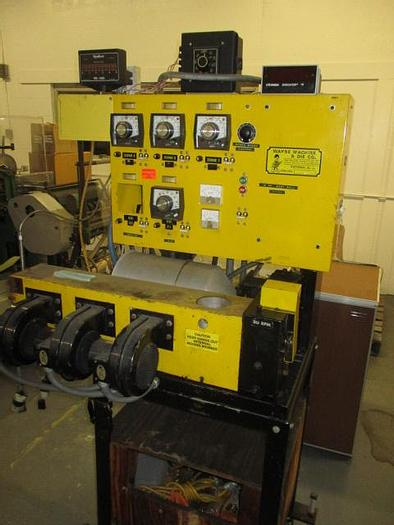 Used 1″ Wayne non-vented laboratory extruder. Includes temperature control panel, air cooled barrel and hopper. S/N 1889-884