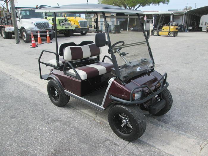 Club Car Golf Cart With Recent Restoration
