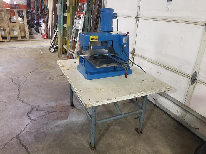 Refurbished Miller-Moorehead Model 100 Laminate Slitter