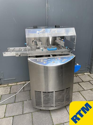 Used Tempering Machine with Enrobing Belt