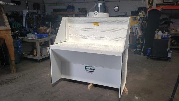 Used Dualdraw Down Draft Clean Air Stations (fume & particulate extraction and filtration)