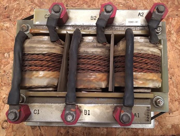 Used Capstone Turbine Inductors Module for C60 Microturbine (P/N 510451-001)