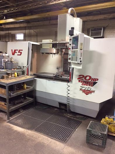 1998 HAAS VF5/40 CNC Vertical Machining Center - See Video