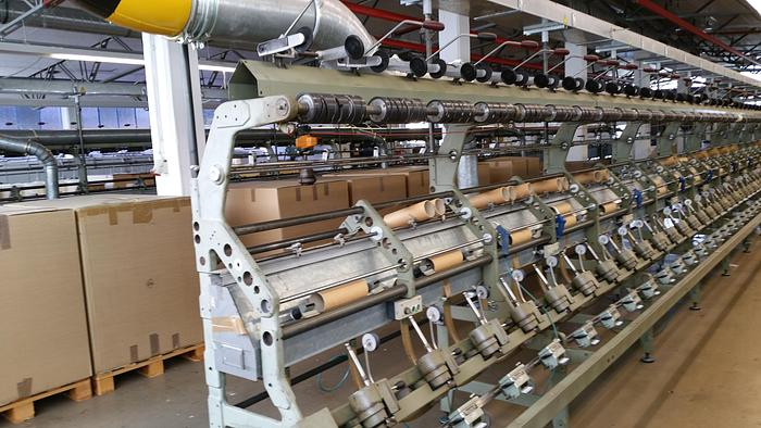 Gebraucht Effektzwirnmaschine für Glasfaser SAURER ALLMA  ESPG 60 Spindeln