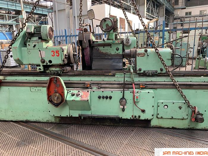 Used TOS BUT63 x 4000 Cylindrical Grinder