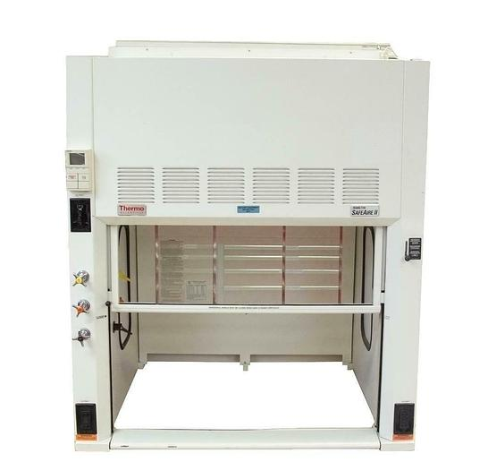 Used Thermo Scientific Hamilton Safeaire II 60L Benchtop Fume Siemens Purge 9073