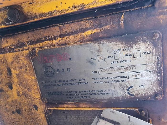 Used Varco TDS9SA Topdrive
