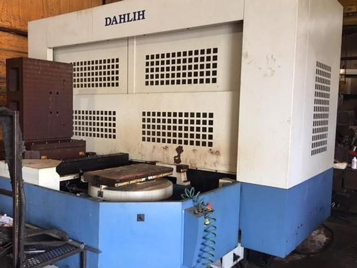 Used 2012 Dah-Lih MCH-800 Horizontal Machining Center - Fanuc 0iM-D