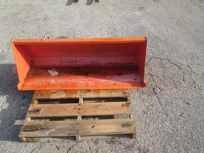 """Used 52"""" Kubota Tractor Bucket"""