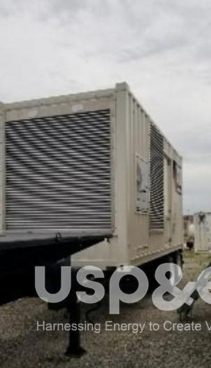 Used .50 MW 2007 USED CATERPILLAR GPS500 DIESEL GENERATOR SETS
