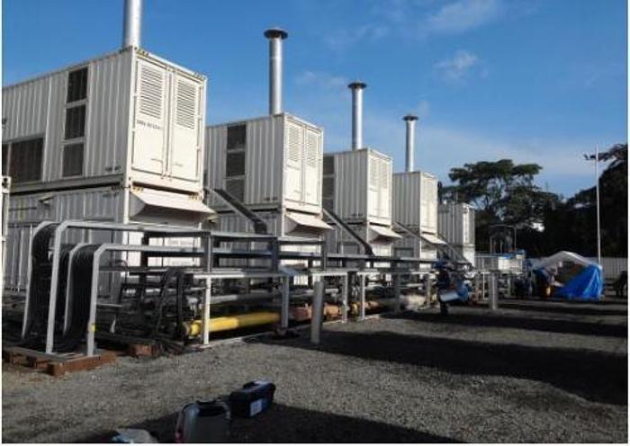 1.5 MW 2013 New Niigata 8L22HLX HFO Generator