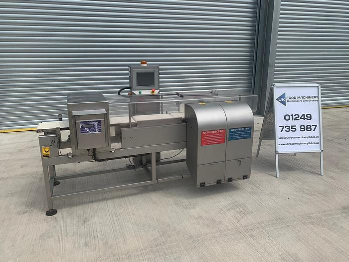 Used FORTRESS PHANTOM METAL DETECTOR CHECKWEIGHER