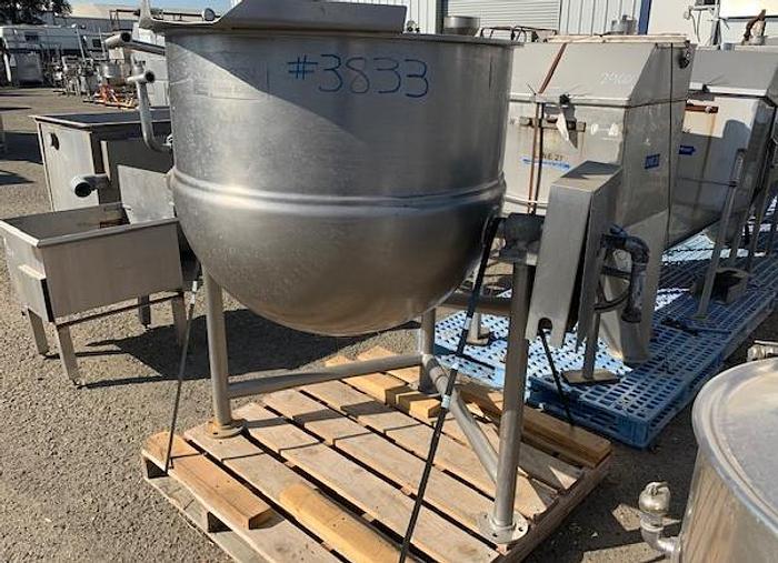 100 Gallon Groen Jacketed Tilting Steam Kettle