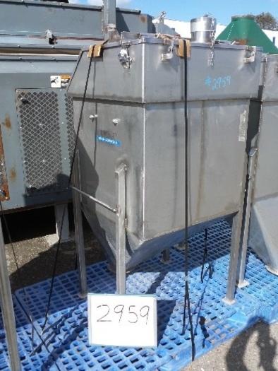 Stainless Steel Ingredient Feed Hopper Tank #2959