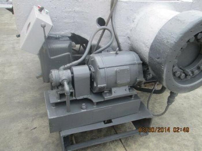 MASSIVE BALDWIN SOUTHWARK 200 TON HYDRAULIC IRONWORKER / BULLDOZING MACHINE