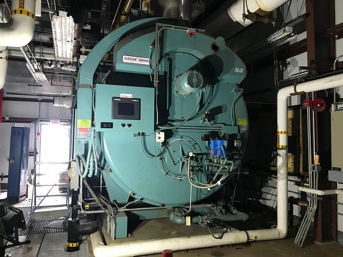 2006 Cleaver Brooks 400 HP 15 PSI low pressure  CBI 200-400-015 Boiler