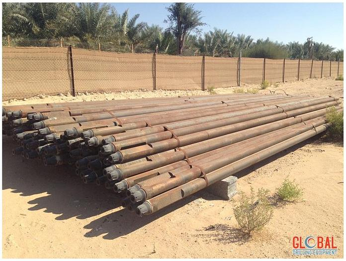 Used Driltech D40 Drill Pipes
