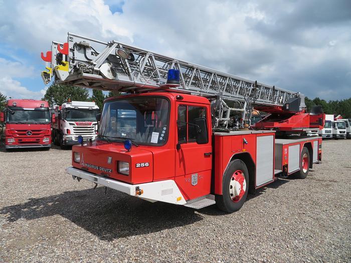 Meget god Magirus Deutz 256 V8 4x2 Stige DL23-12 30 m.