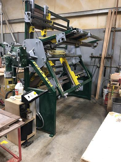 Used Taylor 713A 5-Section Door Pro