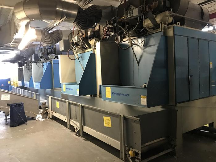 Used 2003 KANNEGIESSER 135KG SYSTEM DRYERS (5 AVAILABLE)