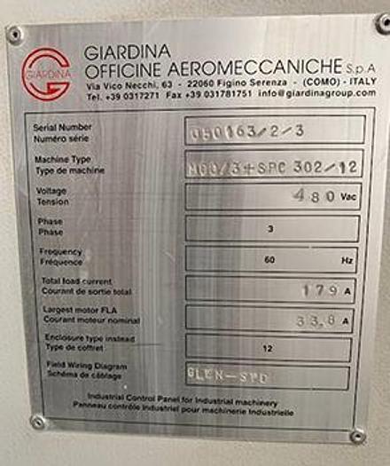 Giardina Vacuum Coater