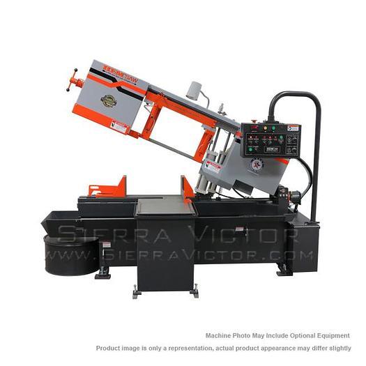 HE&M Semi Automatic Horizontal Pivot Bandsaw H105LM