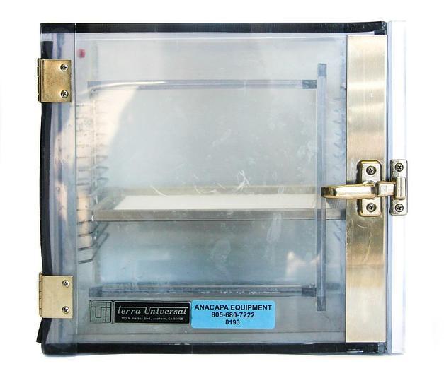 """Used Terra Universal Inc 2060-00, Static Dissipative PVC Box, 12x12x12"""" (8193)W"""