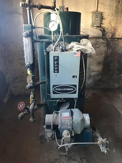 Used CT Gas Steam Boiler For Sale CT