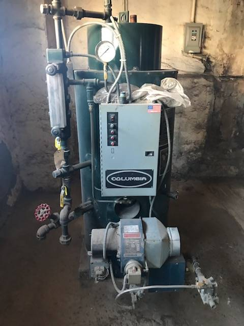 CT Gas Steam Boiler For Sale CT
