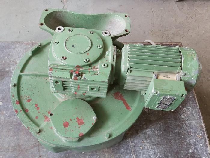 Gebraucht Zellradschleuse, Winkelgetriebe, DFT 80N4, SEW, getestet mit Video, gebraucht