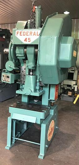 45 Ton, FEDERAL, OBI BACKGEARED PRESS