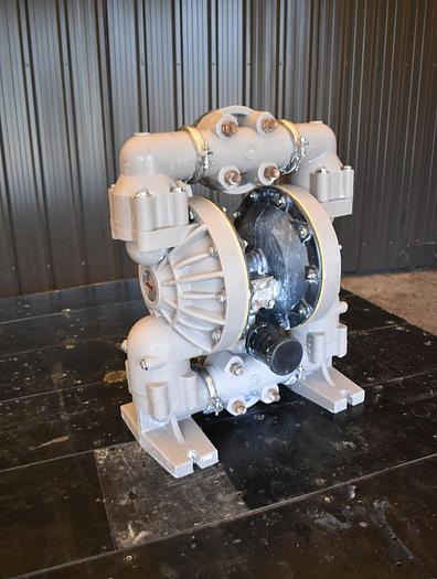 """Used USED ARO DIAPHRAGM PUMP, 2"""" X 2"""" INLET & OUTLET, REINFORCED POLYPROPYLENE"""
