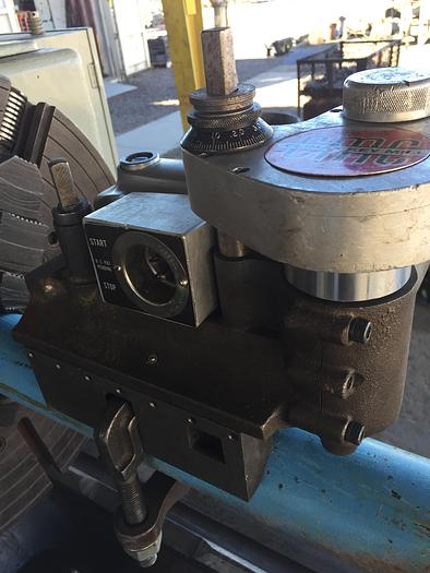 Used Climax Mdl. 65 Portable Keyway Milling Machine Shaft Clamp with Hardware 120 V.A.C.