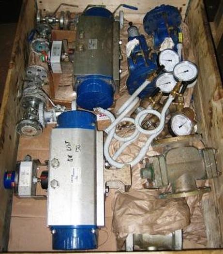 Used Steam regulating valves, steam traps,