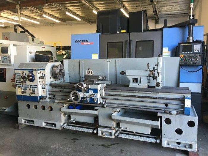 "Used 19""/28"" x 80""cc, TUDA,No.TUDOR MAX, 3 1/4"" SPINDLE BORE, 15 HP [4458]"