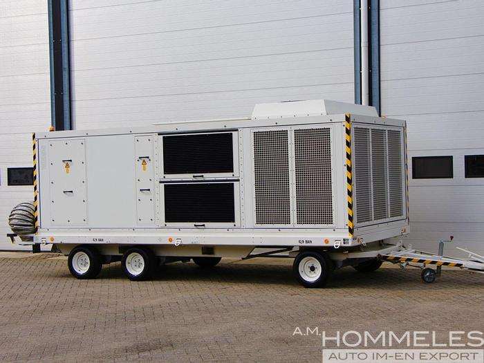 Used Weiss Technik mobile airconditioning unit