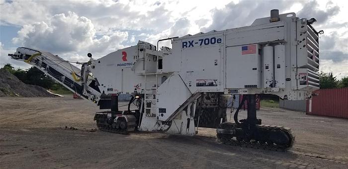 Used 2015 ROADTEC RX700-3 MILLING MACHINE