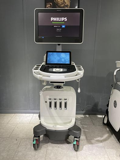 Gebraucht Philips Affiniti 50G Ultraschallgerät mit Sony Drucker