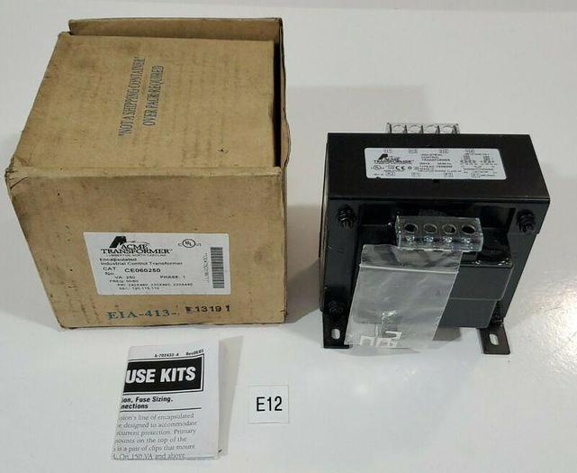 *NEW IN BOX* ACME TRANSFORMER CE060250 250VA 60Hz + Warranty!