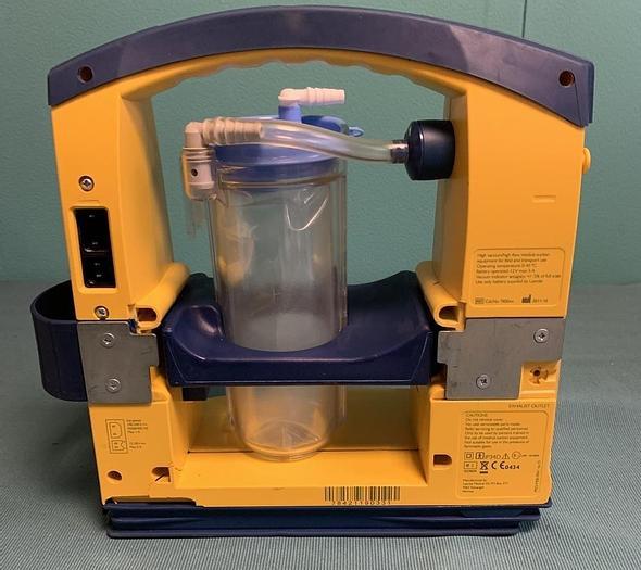Gebraucht LSU Absauggerät Laerdal Suction Unit + Kanister, Vakuumschlauch, Batterie