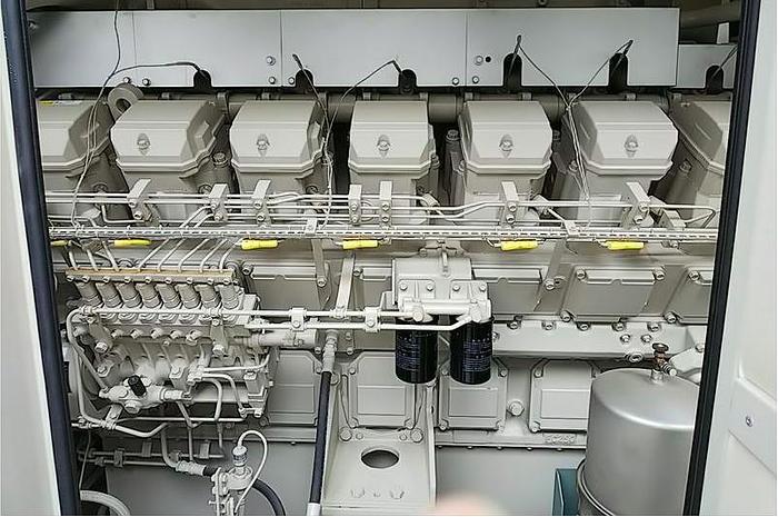 Used 1.15 MW 2014 Used Mitsubishi Engine + Taiyo S16R-PTA-4 Diesel Generator