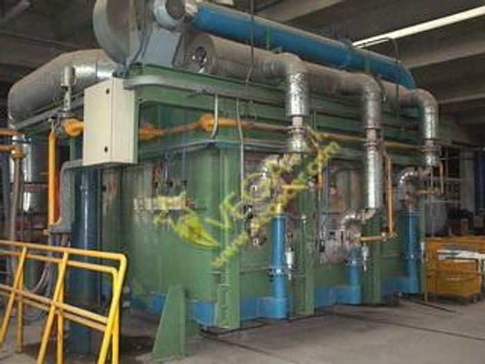 Used GAS TURBO KILN WISTRA FOR HIGH TEMPERATURE