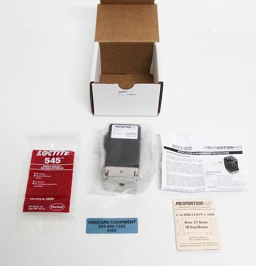 Proportion-Air QBS PA2276 Electropneumatic Pressure Regulator NEW (6409)
