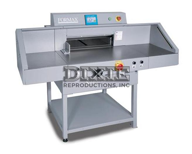 Cut-True 29A: 20'' Fully Programmable Electric Guillotine Cutter